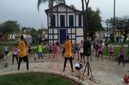 Realizado na Praça do Santana o 1º Aulão de Ritbox de Paracatu foi um sucesso.