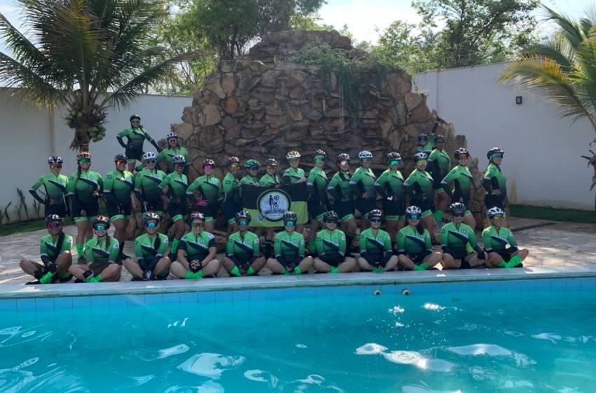 Lançamento da Primeiro Grupo Feminino de Ciclismo de Paracatu.