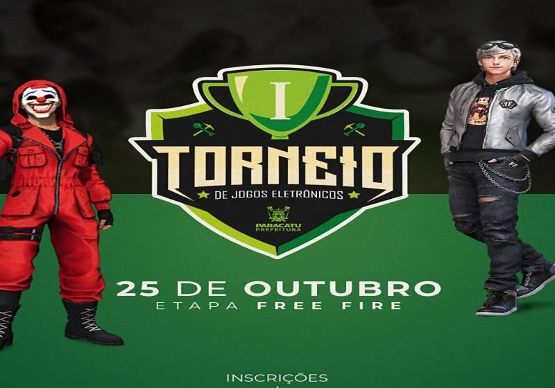 Vem ai  o 1º Torneio de Jogos Eletrônicos de Paracatu.
